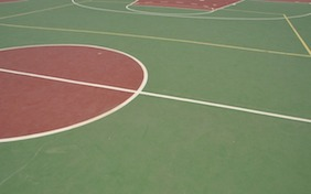 Basketball court sports