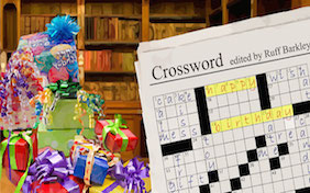 Birthday Crossword background