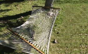 Hammock outside