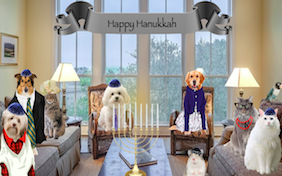 Build your own Hanukkah ecard