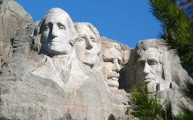 Mount Rushmore National Memorial monument