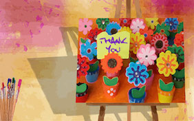 Thank you thanks painting