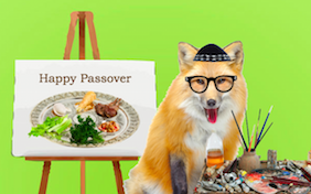 Build your own Passover ecard
