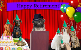 Build your own happy retirement ecard
