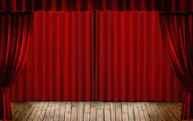 Stage performance curtain