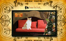 Holiday Invite To Decorate a Tree ecard with cats