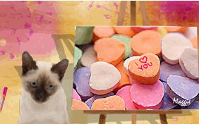 Art of Love cat ecard