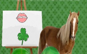 Kiss Me I'm Irish St. Patrick's Day pet ecard