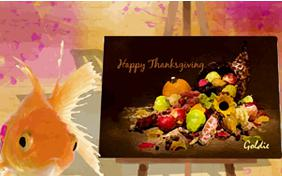 Thanksgiving Art pet ecard