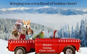 Holiday Truckload pet ecard