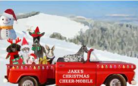 Christmas Truckload pet ecard