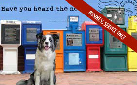 Have you heard the news ecard for pet businesses