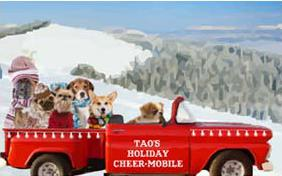 Holiday Truckload dog ecard
